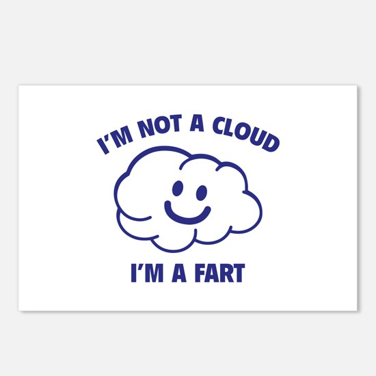I'm Not A Cloud Postcards (Package of 8)