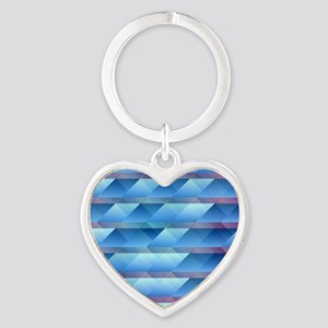 Blue plastic bars Keychains