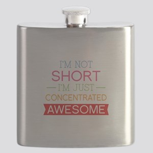 I'm Not Short I'm Just Concentrated Awesome Flask