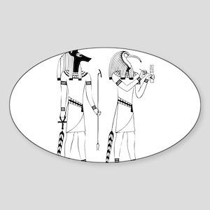 Anubis thoth Sticker