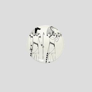 Anubis thoth Mini Button