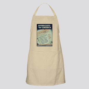 world war 2 poster art Apron