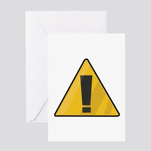 Traffic Sign Greeting Cards