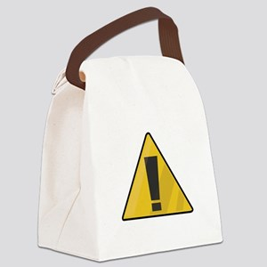 Traffic Sign Canvas Lunch Bag