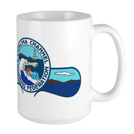 Swim Catalina Large Mug