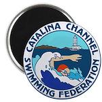 Swim Catalina Magnet