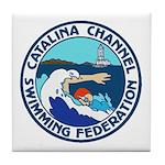 Swim Catalina Tile Coaster