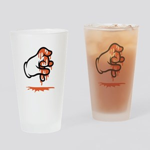 Blood Gang Drinking Glass