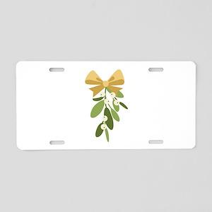 Mistletoe Branch Christmas Decoration Aluminum Lic