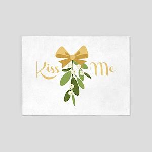 Mistletoe Branch Christmas Decoration Kiss 5'x7'Ar
