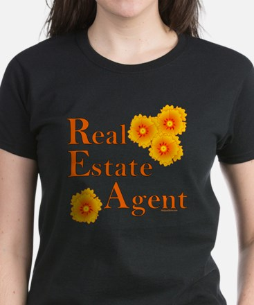 Real Estate Agent Women's Dark T-Shirt