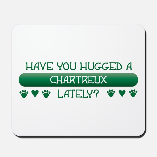 Hugged Chartreux Mousepad
