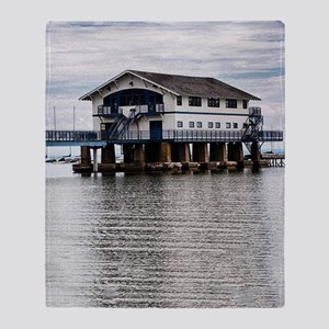 Boathouse 4 Throw Blanket
