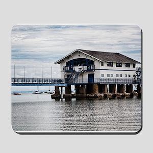 Boathouse 4 Mousepad