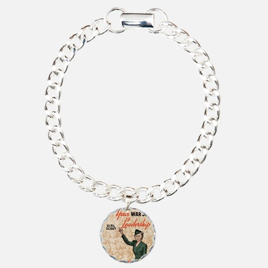 world war 2 poster art Bracelet