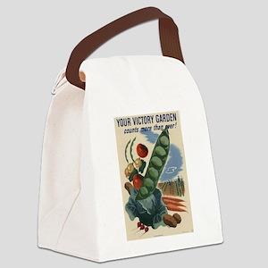 world war 2 poser art Canvas Lunch Bag