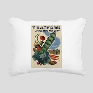 world war 2 poser art Rectangular Canvas Pillow