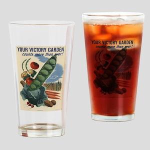 world war 2 poser art Drinking Glass
