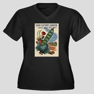 world war 2 poser art Plus Size T-Shirt