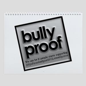 Bully Proof Wall Calendar