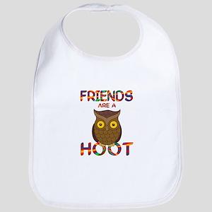 Friends are a Hoot Bib