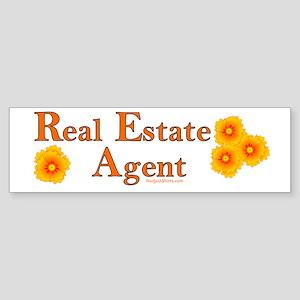 Real Estate Agent Bumper Sticker