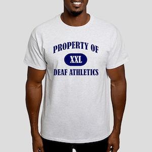 Property of Deaf Athletics T-Shirt