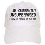I Am Currently Unsupervised Cap