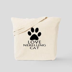 Love Nebelung Cat Designs Tote Bag