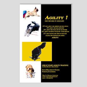 Great Start Agility Postcards (8)
