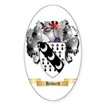 Hibberd Sticker (Oval 50 pk)