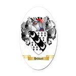 Hibbart Oval Car Magnet