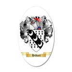 Hibbart 35x21 Oval Wall Decal