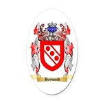 Heywood Oval Car Magnet