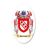 Heywood 35x21 Oval Wall Decal