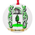 Heyslip Round Ornament