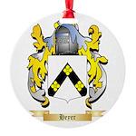 Heyer Round Ornament