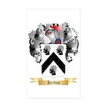 Heydon Sticker (Rectangle 50 pk)