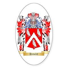 Hewlitt Sticker (Oval)