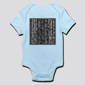 Bathroom Jumble Infant Bodysuit