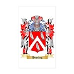 Hewling Sticker (Rectangle 50 pk)