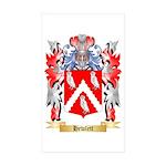 Hewlett Sticker (Rectangle 50 pk)