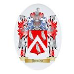 Hewlett Ornament (Oval)