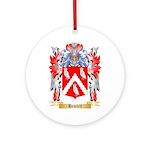 Hewlett Ornament (Round)