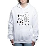 Geezer's Got Game! Women's Hooded Sweatshirt