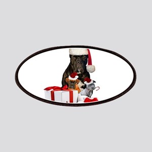 Christmas Cane Corso Patches