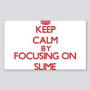 Keep Calm by focusing on Slime Sticker