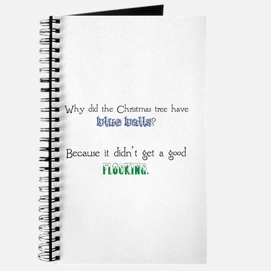 Christmas Joke: Blue Balls/Flocking Journal
