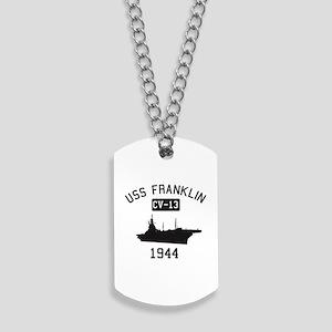 USS Franklin 1 Dog Tags