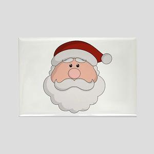 Santa Season Rectangle Magnet